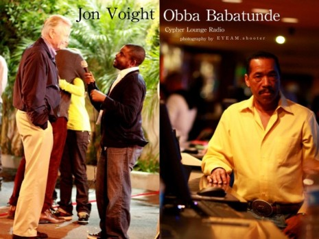 Jon Voight and Obba Babatunde